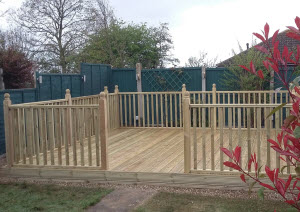 Finished Deck - © MJS Services